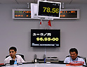 Yen Raises against EURO and US Dollar on Friday June 1