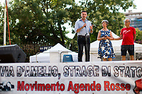 "Gianluca & Angela Manca - Relatives of Urologist Attilio Manca, victim of Cosa nostra mafia but still classified as ""suicide"", http://www.attiliomanca.it/wp2/ .<br />