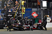 NASCAR Camping World Truck Series<br /> TheHouse.com 225<br /> Chicagoland Speedway, Joliet, IL USA<br /> Friday 15 September 2017<br /> Noah Gragson, Switch Toyota Tundra makes a pit stop<br /> World Copyright: Logan Whitton<br /> LAT Images