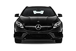 Car photography straight front view of a 2019 Mercedes Benz GLA AMG 45 5 Door SUV