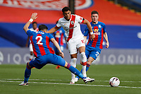 12th September 2020; Selhurst Park, London, England; English Premier League Football, Crystal Palace versus Southampton; Che Adams of Southampton being challenged by Joel Ward of Crystal Palace