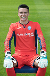 St Johnstone FC Season 2017-18 Photocall<br />Ross Sinclair<br />Picture by Graeme Hart.<br />Copyright Perthshire Picture Agency<br />Tel: 01738 623350  Mobile: 07990 594431