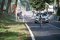 Ganna Solovei (UKR/Lviv)<br /> <br /> Women Elite Individual Time Trial from Knokke-Heist to Bruges (30.3 km)<br /> <br /> UCI Road World Championships - Flanders Belgium 2021<br /> <br /> ©kramon