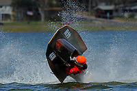 Frame 8: Bruce Hansen (44-W) blows over in a turn then turns upright after landing.....Stock  Outboard Winter Nationals, Ocoee, Florida, USA.13/14 March, 2010 © F.Peirce Williams 2010