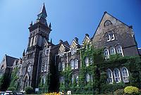 university, Toronto, Canada, Ontario, University of Toronto St. George Campus in downtown Toronto.