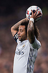 Marcelo Vieira Da Silva of Real Madrid in action during their Copa del Rey Round of 16 match between Real Madrid and Sevilla FC at the Santiago Bernabeu Stadium on 04 January 2017 in Madrid, Spain. Photo by Diego Gonzalez Souto / Power Sport Images