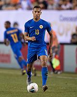 PHILADELPHIA, PA - JUNE 30: Jurien Gaari #13 during a game between Curaçao and USMNT at Lincoln Financial Field on June 30, 2019 in Philadelphia, Pennsylvania.