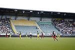 Nederland, Den Haag, 27 september 2015<br /> Eredivisie<br /> Seizoen 2015-2016<br /> ADO Den Haag-Excelsior (3-3)<br /> Het supportersvak midden-noord blijft eerste 12 minuten van de wedstrijd leeg (op 2 supporters na) vanwege het slechte spel van ADO in de beker