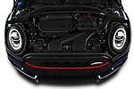Car Stock 2020 MINI Clubman 5 Door Wagon Engine  high angle detail view