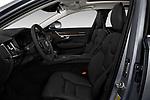 Front seat view of a 2018 Volvo S90 Momentum 4 Door Sedan front seat car photos
