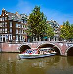 Niederlande, Nordholland, Amsterdam: Grachtenrundfahrt | Netherlands, North Holland, Amsterdam: Canal Cruise