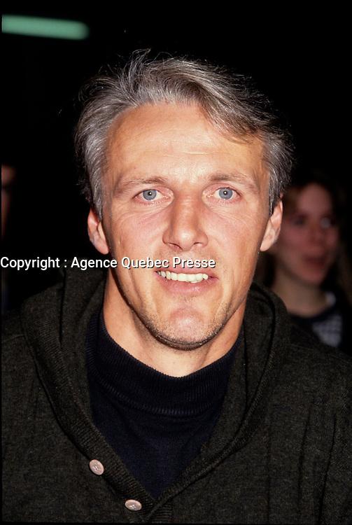 dec 1992 file photo -  Mike Bossy, Hockey legend