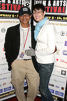 Clinton H. Wallace and Claudia Lari<br />at the Pan African Film Festival Premiere of 'Layla'. Culver Plaza Theatre, Culver City, CA. 02-13-09<br />Dave Edwards/DailyCeleb.com 818-249-4998