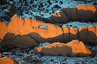 Arches National Park at dusk. Dec 27, 2013
