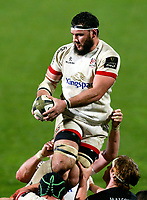 Monday 9th November 2020 | Ulster Rugby vs Glasgow Warriors<br /> <br /> Marcell Cotezee during the Guinness PRO14 Round 5 match between Ulster Rugby and Glasgow Warriors at Kingspan Stadium in Belfast, Northern Ireland. Photo by John Dickson / Dicksondigital
