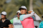 Lee SOYOUNG (am) (KOR) during round four of the 2014 Omega Dubai Ladies Masters being played over the Majlis Course, Emirates Golf Club, Dubai from 10th to 13th December 2014: Picture Stuart Adams, www.golftourimages.com: 13-Dec-14