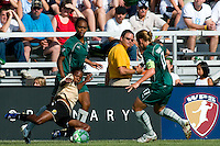 FC Gold Pride midfielder Formiga (31) goes after a ball during a WPS match at Anheuser-Busch Soccer Park, in St. Louis, MO, July 26, 2009. The match ended in a 1-1 tie.