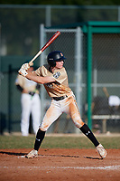 Elliot Krewson (51) during the WWBA World Championship at Terry Park on October 11, 2020 in Fort Myers, Florida.  Elliot Krewson, a resident of Chesterfield, Missouri who attends Parkway West High School, is committed to Dartmouth.  (Mike Janes/Four Seam Images)