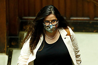 Deputies wear colored face masks during the information of the Minister of Instruction at the Chamber of Deputies, about the measures to contrast the Covid-19 pandemic at the reopening of the schools in September.<br /> Rome (Italy), July 28th 2020