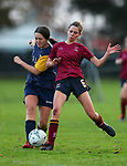 Kings College 1st XI Girls Football v Epsom Girls Grammar, Kings College, Auckland, Thursday 20 May 2021. Photo: Simon Watts/www.bwmedia.co.nz