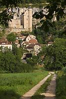 Europe/France/Midi-Pyrénées/46/Lot/Larroque Toirac: Le Château