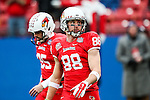 Illinois State Redbirds wide receiver Scott Kuehn (88) in action during the FCS Championship game between the North Dakota State Bison and the Illinois State Redbirds at the Toyota Stadium in Frisco, Texas. North Dakota defeats Illinois 29 to 27.