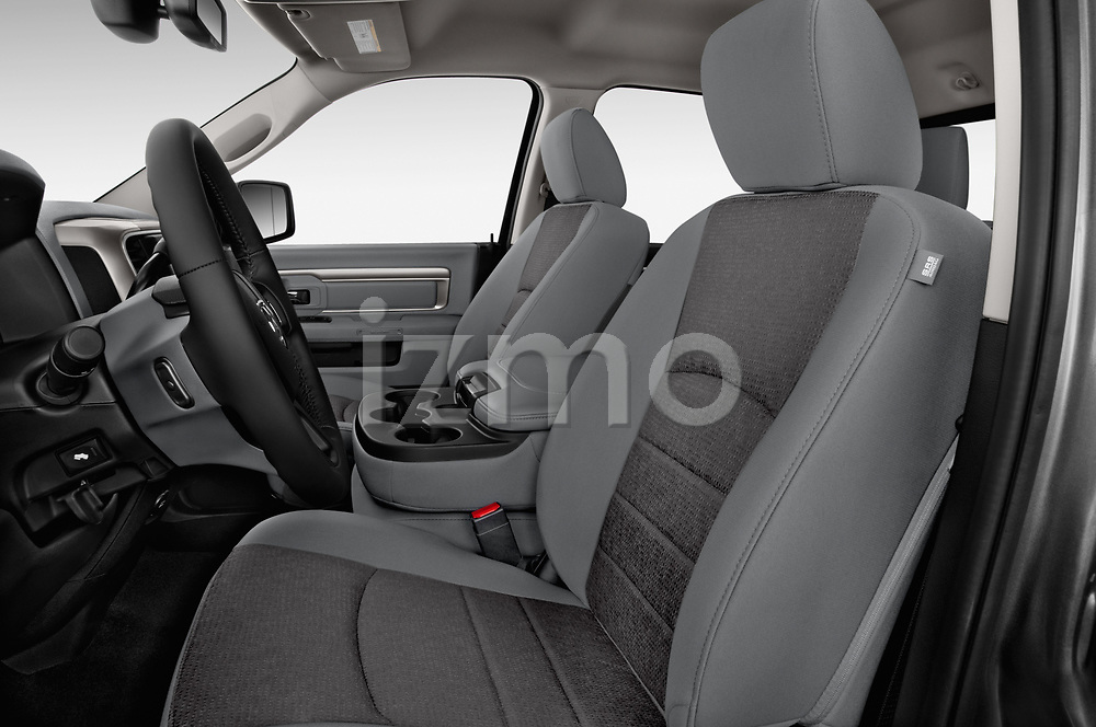 Front seat view of 2017 Ram 3500 Big Horn 4 Door Pick Up front seat car photos