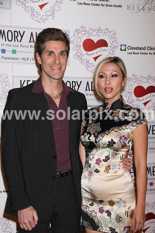 """**ALL ROUND PICTURES FROM SOLARPIX.COM**.**SYNDICATION RIGHTS FOR UK, AUSTRALIA, DENMARK, PORTUGAL, S. AFRICA, SPAIN & DUBAI (U.A.E) ONLY**.arrivals at the 13th Annual """"Keep Memory Alive"""" Gala to Benefit the Lou Ruvo Foundation. Held at the Bellagio Hotel and Casino, Las Vegas, NV, USA. 28 February 2009..This pic: Perry Farrell and Etty Lau..JOB REF: 8570 PHZ (PRN)    DATE: 28_02_2009.**MUST CREDIT SOLARPIX.COM OR DOUBLE FEE WILL BE CHARGED**.**ONLINE USAGE FEE  GBP 50.00 PER PICTURE - NOTIFICATION OF USAGE TO PHOTO @ SOLARPIX.COM**"""