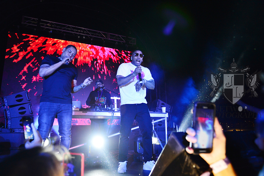 HALLANDALE, FLORIDA - JANUARY 25: Nelly performs on stage at the 2020 Pegasus World Cup Championship Invitational Series at Gulfstream Park - David Grutman's LIV Stretch Village on January 25, 2020 in Hallandale, Florida.  ( Photo by Johnny Louis / jlnphotography.com )