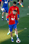 Spain's Diego Costa and Jordi Alba during training session. March 20,2017.(ALTERPHOTOS/Acero)