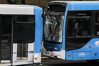 03.12.2019 - Acidente entre três ônibus av 23 de Maio em SP
