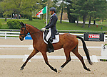 April 23, 2021: #35 On Cue and rider Boyd Martin from the USA in the 5* Dressage  at the Land Rover Three Day Event at the Kentucky Horse Park in Lexington, KY on April 23, 2021.  Candice Chavez/ESW/CSM