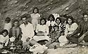Iran 1938 <br /> A picnic on the shore of lake Ourmieh with the parents of Hassan Shatavi.<br /> <br /> Iran 1938<br /> Un pique-nique au bord du lac Ourmieh avec la famille Shatavi
