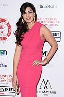 Kate Victors<br /> arriving for the Critic's Circle Film Awards 2018, Mayfair Hotel, London<br /> <br /> <br /> ©Ash Knotek  D3374  28/01/2018