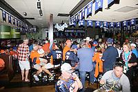 Fans der Denver Broncos feiern den Super Bowl Sieg - Super Bowl 50: Carolina Panthers vs. Denver Broncos