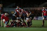 Richie Rees<br /> RaboDirect Pro12<br /> Newport Gwent Dragons v Munster<br /> Rodney Parade - Newport<br /> 29.11.13<br /> ©Steve Pope-SPORTINGWALES