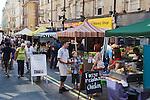Farmers Market. Rupert Street Soho. London Uk.