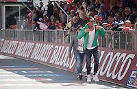 Mario Cipollini (ITA) is still King of Italy<br /> <br /> Giro d'Italia 2015<br /> stage 19: Gravellona Toce - Cervinia (236km)