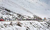 2013 Giro d'Italia.stage16..up the Col du Montcenis (2081m)