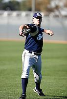 Zach Braddock - Milwaukee Brewers - 2009 spring training.Photo by:  Bill Mitchell/Four Seam Images