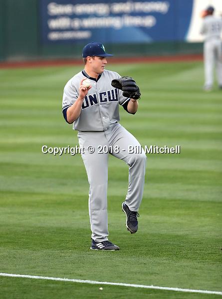 Clark Cota - 2018 - UNC-Wilmington Seahawks (Bill Mitchell)