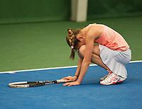 01-12-13,Netherlands, Almere,  National Tennis Center, Tennis, Winter Youth Circuit, Julie Belgraver   <br /> Photo: Henk Koster