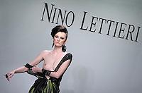 Italian fashion designer Nino Lettieri featured at Rome Fashion Week,Fashion show. Presentation of S/S 2013.Italian Haute Couture collection, January 28, 2013
