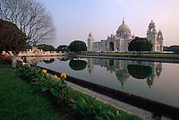 Victoria Memorial in Kalkutta (Kolkata), Indien