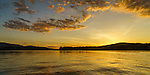 Burnt Jacket Point sunset. Moosehead Lake, ME.
