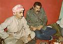 Iran 1989.From left to right, Saleh Mahmoud and Failak Eddine Kakai  Iran 1989. De gauche a droite, Saleh Mahmoud et Failak Eddine Kakai