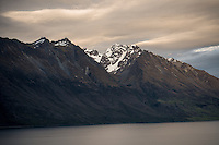 Thomson Mountains with Tooth Peak 2061m, Mount Aspiring National Park, Central Otago, New Zealand, NZ