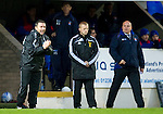 St Johnstone v Kilmarnock....06.11.10  .Derek McInnes and Mixu Paatelainen watch the game.Picture by Graeme Hart..Copyright Perthshire Picture Agency.Tel: 01738 623350  Mobile: 07990 594431