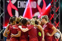 24th September 2021: Christchurch, New Zealand;  England during the third Cadbury Netball Series/Taini Jamison Trophy, New Zealand Silver Ferns versus England Roses, Christchurch Arena, Christchurch, New Zealand