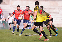 Spain's Federico Castiglioni during Rugby Europe Championship 2017 match between Spain and Belgium in Madrid. March 18, 2017. (ALTERPHOTOS/Borja B.Hojas) /NORTEPHOTO.COM